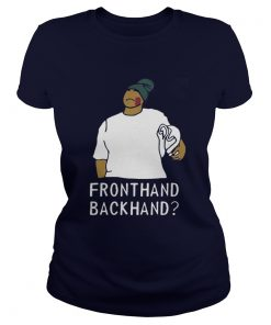 Peele Fronthand backhand Ladies Tee