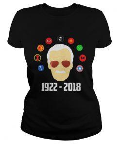 RIP Stan Lee Comic Superhero death Ladies Tee