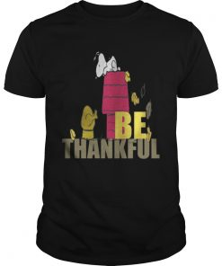 Snoopy – Be Thankful Guys