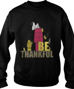 Snoopy – Be Thankful Sweatshirt