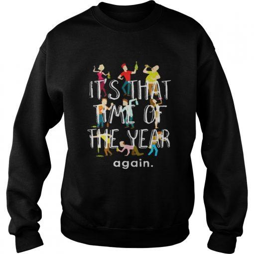 Sweatshirt New Year Happy New Year 2019 Fireworks TShirt