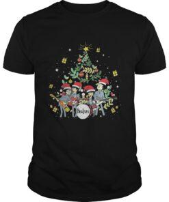 The Beatles and Christmas tree Guys
