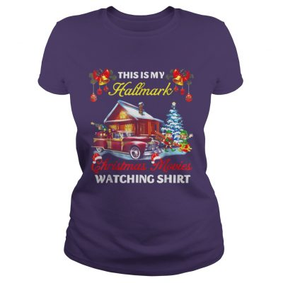 This Is My Hallmark Christmas Movies Watching Ladies Tee