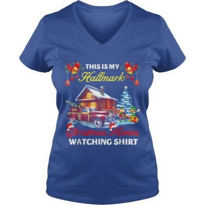 This Is My Hallmark Christmas Movies Watching VNeck