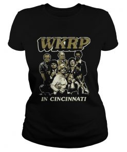 WKRP turkey drop in Cincinnati thanksgiving Ladies Tee