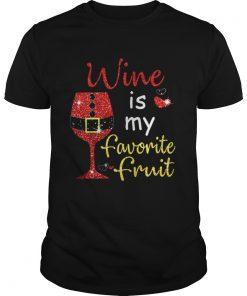 Wine Is My Favorite Fruit Christmas Guys
