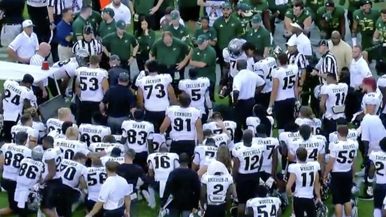 UCF QB McKenzie Milton carted off field after suffering serious leg injury against South Florida