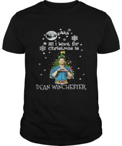 Guys All I want for christmas is Dean Winchester