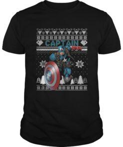 Guys Captain Marvel ugly christmas