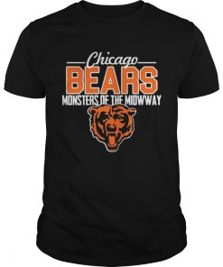 Guys Chicago Bears monsters of the midway tiger