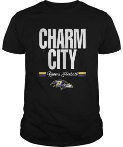 Guys Funny Charm City Baltimore Ravens Football
