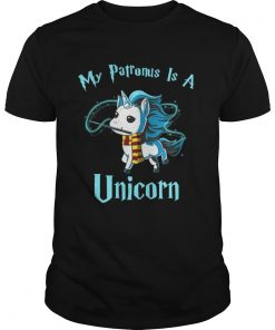 Guys Harry Potter My Patronus is a unicorn shirt