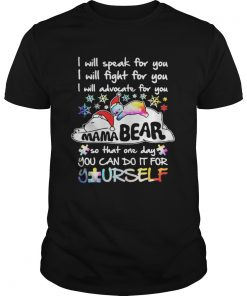 Guys I will speak for you I will fight for you I will advocate for you Mama Bear