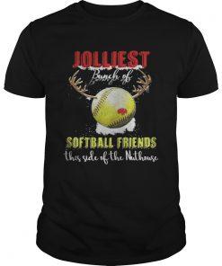 Guys Jolliest Bunch Of Softball Friends