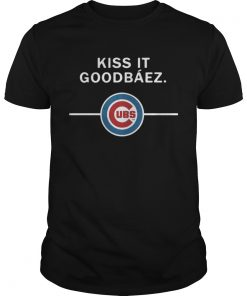 Guys Kiss it GoodBaez Chicago Cubs