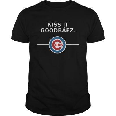 Guys Kiss it GoodBaez Chicago Cubs
