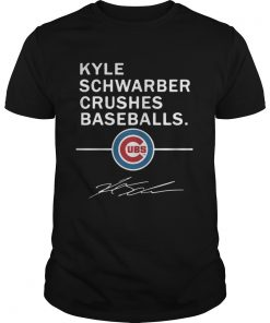 Guys Kyle Schwarber Crushes baseball Chicago Cubs
