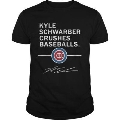 Guys Kyle Schwarber Crushes baseball Chicago Cubs