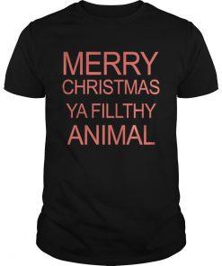 Guys Merry Christmas Ya Filthy Animal
