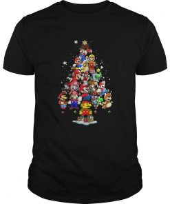 Guys Official Super Mario christmas tree