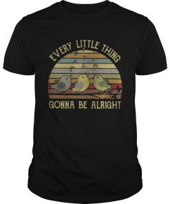 Guys Official Vintage Every little thing gonna be alright