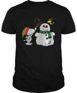 Guys Snoopy Woodstock and Snow Christmas ugly