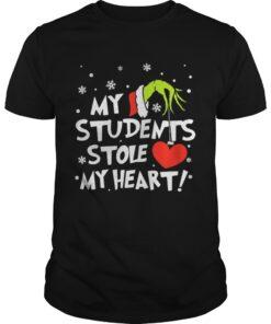 Guys Teacher Grinch my students stole my heart
