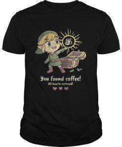 Guys Twilight Princess You found coffee all hearts restored