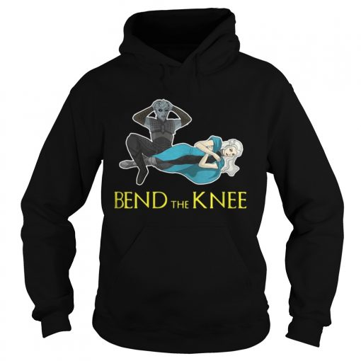 Hoodie Night King Daenerys Targaryen Bend the Knee