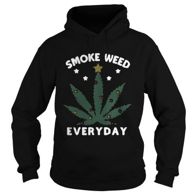 Hoodie Snoop dogg smoke weed everyday christmas