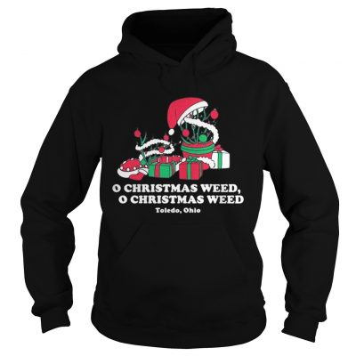 Hoodie Toledo Christmas Weed Inspires
