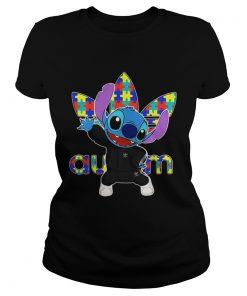 Ladies Tee Baby Stitch Adidas Autism