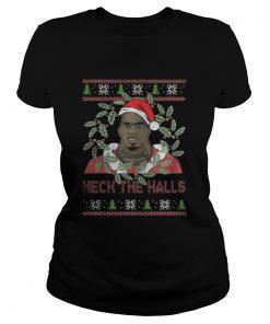 Ladies Tee Charles Dion McDowell – Neck The Halls Christmas
