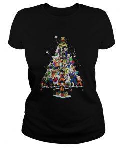 Ladies Tee Dragon ball christmas tree