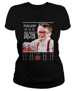 Ladies Tee Home Alone Fuller go easy on the Pepsi Christmas