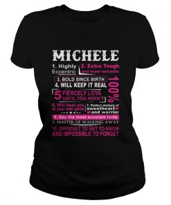 Ladies Tee Lydia highly eccentric extra tough and super sarcastic bold since birth