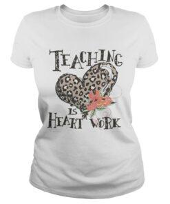 Ladies Tee Teaching is heart work