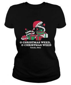 Ladies Tee Toledo Christmas Weed Inspires