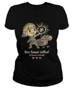 Ladies Tee Twilight Princess You found coffee all hearts restored