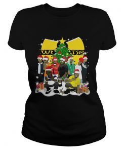 Ladies Tee Wu Tang Clan Christmas Simpsons