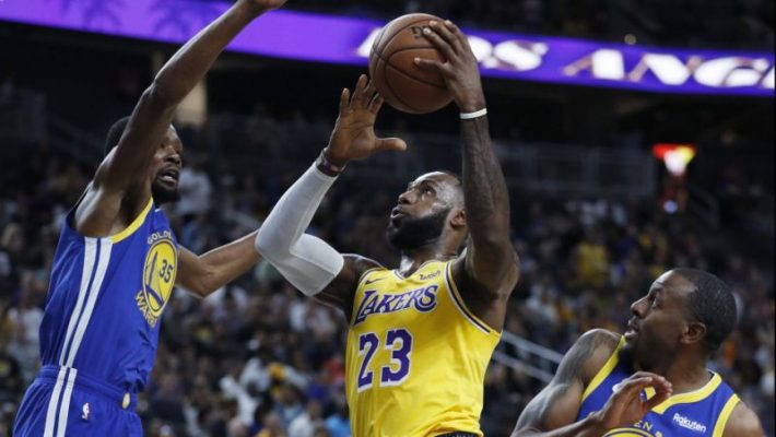 LeBron James once again playing Christmas game at home of defending NBA champ