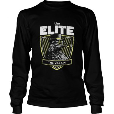 Longsleeve Tee Marty Scurll The Elite The Villain