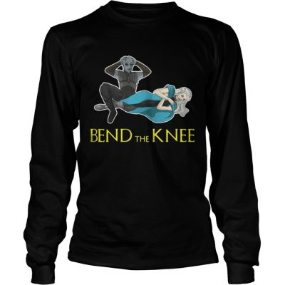 Longsleeve Tee Night King Daenerys Targaryen Bend the Knee