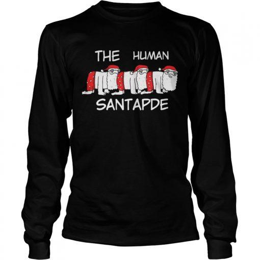 Longsleeve Tee The Human Santapede Ugly Christmas