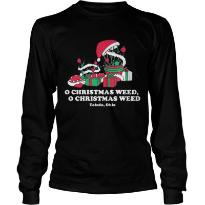 Longsleeve Tee Toledo Christmas Weed Inspires