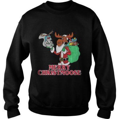 Sweatshirt Merry Christmoose Bullwinkle