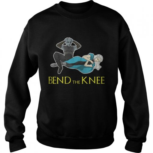 Sweatshirt Night King Daenerys Targaryen Bend the Knee