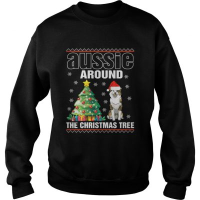Sweatshirt Official Aussie Around The Christmas Tree