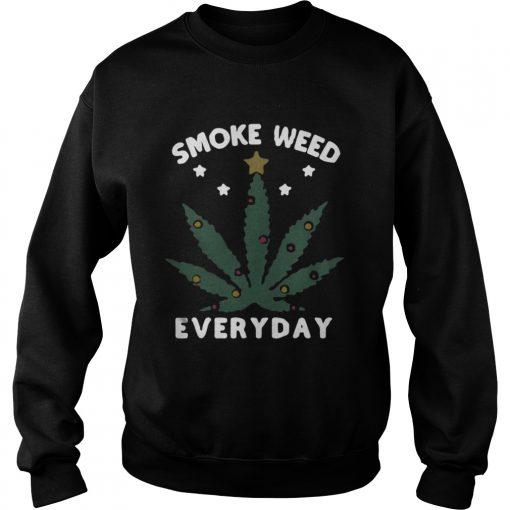 Sweatshirt Snoop dogg smoke weed everyday christmas