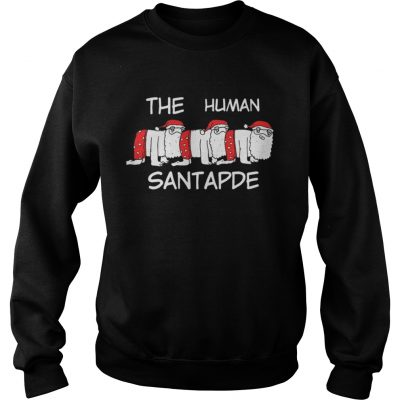 Sweatshirt The Human Santapede Ugly Christmas